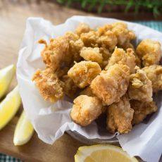 Receta de Chicharrones de pescado crunchy