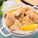 Chicharrones de Pescado Empanado y Frito