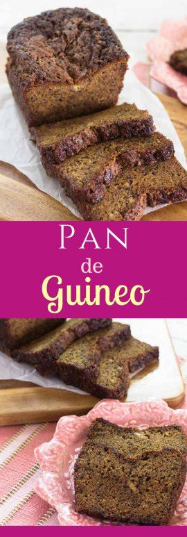 Receta de Pan de Guineo. Sabor y textura PERFECTO.