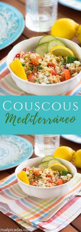 Receta de Couscous Mediterráneo