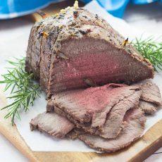 Receta de roast beef.