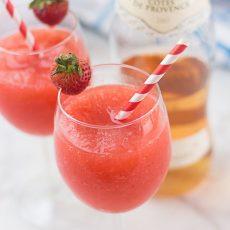 Receta de Frosé - frozen rosé