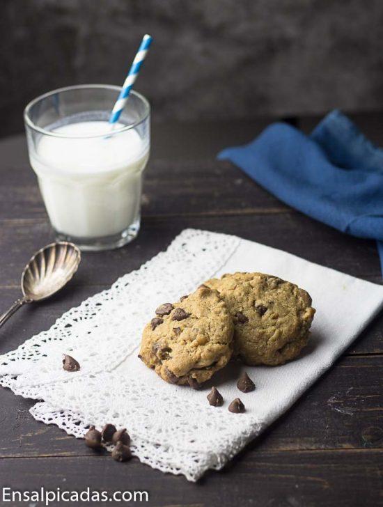 REceta de galletas de chocolate chip