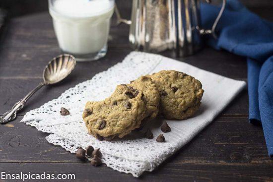 Deliciosas galletas de Chocolate Chip
