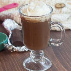 Receta de Chocolate Caliente Estilo Europeo