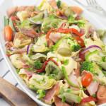 Receta de Ensalada de Tortellini estilo antipasto