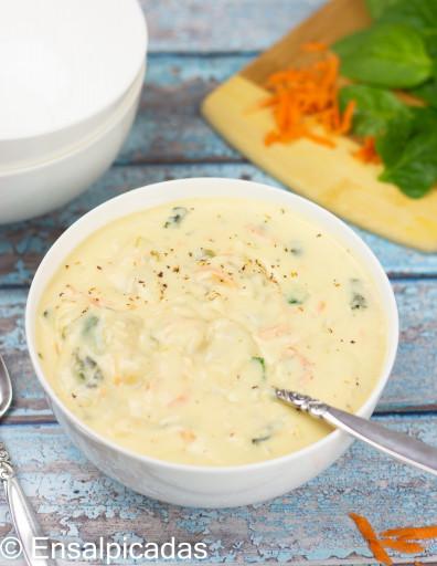 Receta de Sopa de Olive Garden Chicken Gnocchi