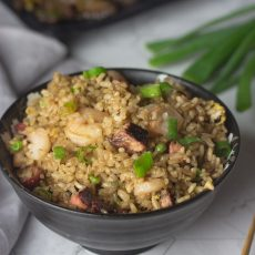 Como hacer arroz frito chino