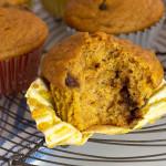 Receta de Muffins de Calabaza y Chocolate Chips